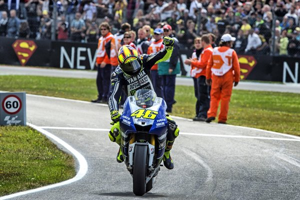 Valentino Rossi wins Holland Moto GP 2013