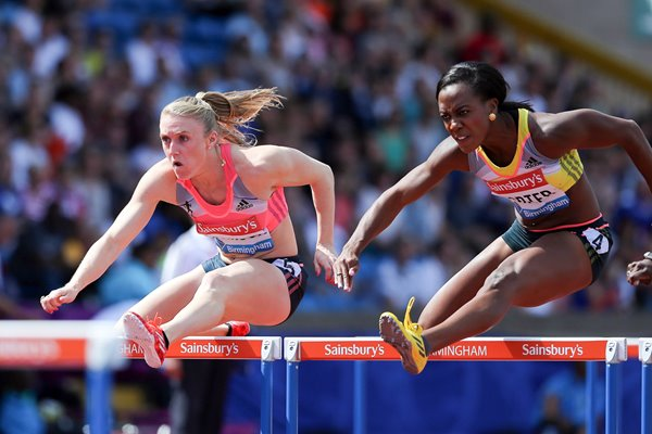 Sally Pearson & Tiffany Porter 100m Hurdles Diamond League 2013