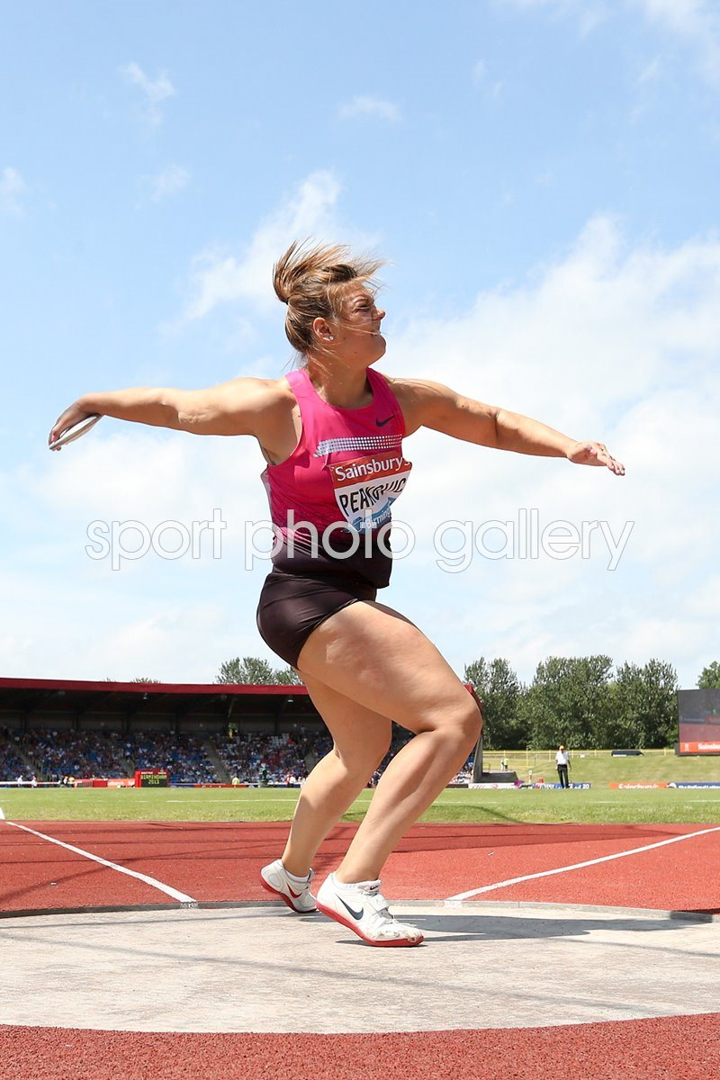 Sandra Perkovic Discus Diamond League Birmingham 2013