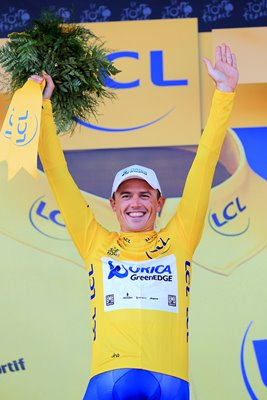 Simon Gerrans Yellow Jersey Tour de France 2013
