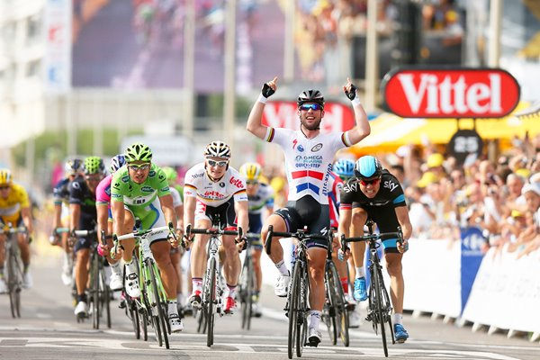 Mark Cavendish wins stage 5 Tour de France 2013