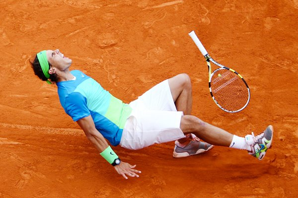 Moment of Victory for Rafa - French Open 2010