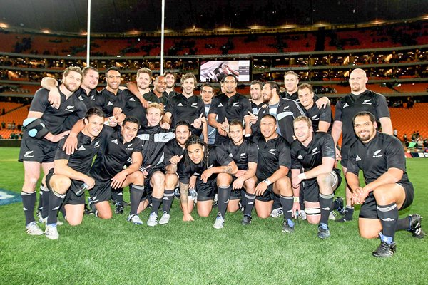 2010 Tri-Nations Champions - New Zealand