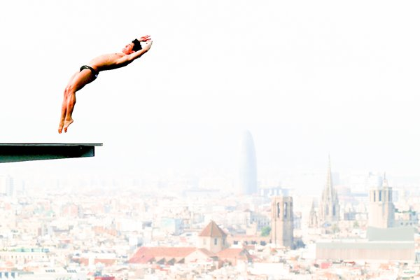Jiho Park Barcelona World Diving Championships 2013