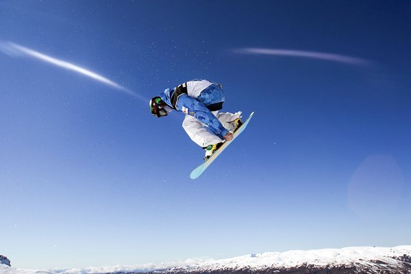 Taku Hiraoka Snowboard Half Pipe Junior Worlds New Zealand 2010