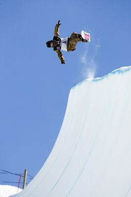 Nicholas Keefer Snowboard Half Pipe Junior Worlds 2010