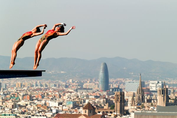 Platform Dive Barcelona World Diving Championships 2013