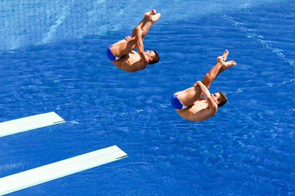 Troy Dumais and Michael Hixon Diving World Championships 2013