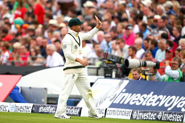David Warner Australia Old Trafford Ashes 2013