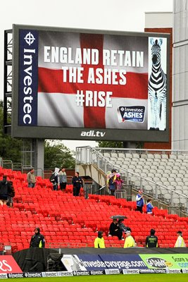 2013 England Retain the Ashes 3rd Test Old Trafford