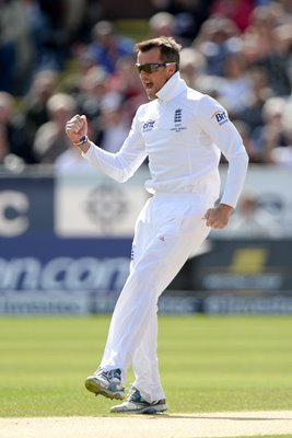 Graeme Swann England 4th Ashes Test Durham 2013