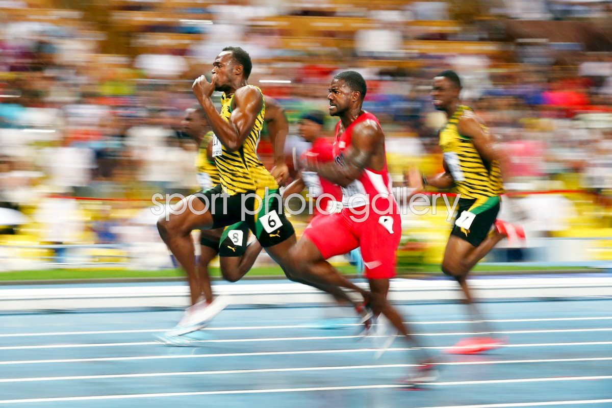 100m Final Usain Bolt wins World Championship Moscow 2013