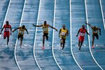 Usain Bolt wins World Championship Gold 100m Moscow 2013  Prints