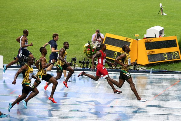 Usain Bolt wins 100m gold in Moscow Worlds 2013