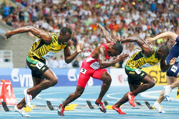 Usain Bolt 2013 World 100m Final Start 2013