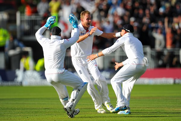 Stuart Broad England hero 4th Ashes Test 2013