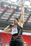 Valerie Adams New Zealand Shot Put World Athletics Moscow 2013  Canvas
