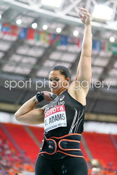 Valerie Adams New Zealand Shot Put World Athletics Moscow 2013