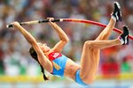 Yelena Isinbaeva Russia 3rd Pole Vault World Title Moscow 2013 Prints