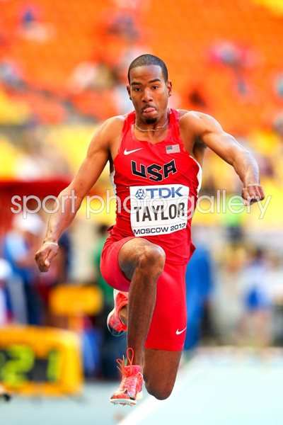Christian Taylor Triple Jump World Athletics Moscow 2013