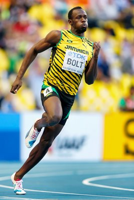 Usain Bolt 200m Champion World Athletics Moscow 2013