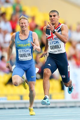 Adam Gemili sub 20 second 200m World Athletics Moscow 2013