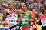 Mo Farah wins Gold 5,000m Gold Worlds Moscow 2013 Prints