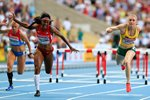 Sally Pearson & Brianna Rollins Hurdles Worlds Moscow 2013  Prints