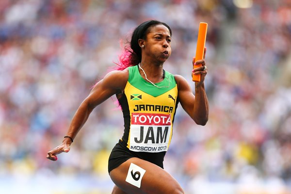 Shelly-Ann Fraser-Pryce World Athletics Moscow 2013