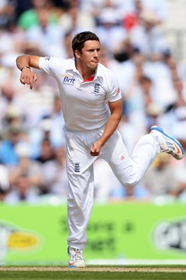 Simon Kerrigan England debut 5th Ashes Test Oval 2013