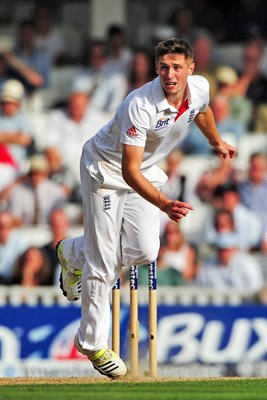 Chris Woakes England debut 5th Ashes Test Oval 2013