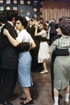 American teenagers dance 1950s Canvas