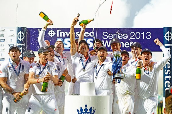 2013 Ashes Winners England