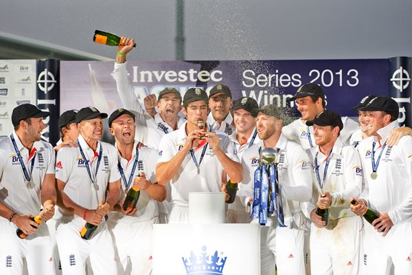 2013 Ashes Series Winners England
