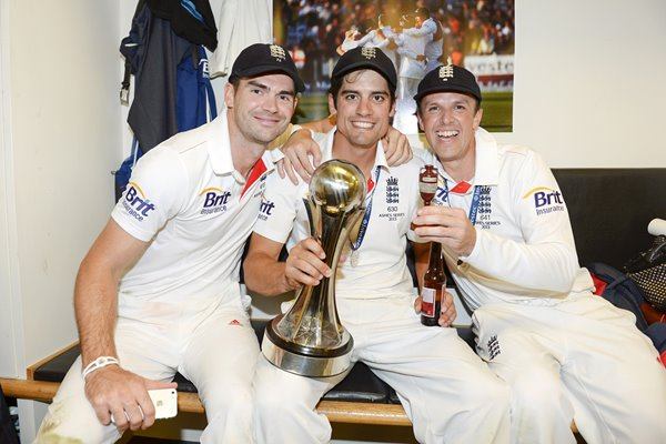2013 England Ashes heroes Cook, Anderson & Swann