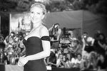 Actress Scarlett Johansson at the Venice Film Festival Prints