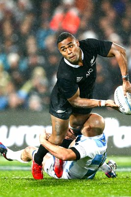 Francis Saili  New Zealand v Argentina Hamilton 2013