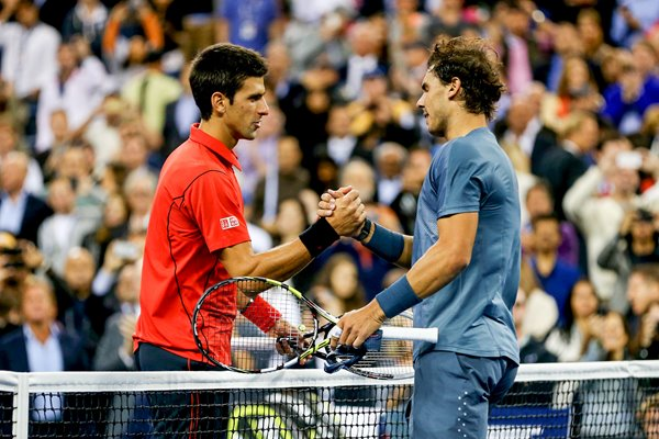 2013 US Open Finalists Rafael Nadal & Novak Djokovic