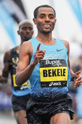 Kenenisa Bekele wins Great North Run 2013