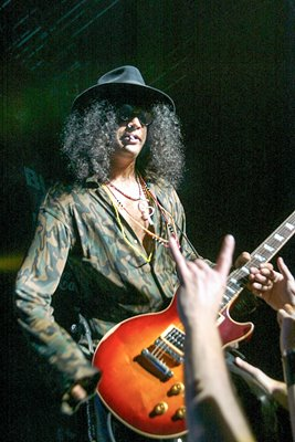 Slash from Guns & Roses 2003