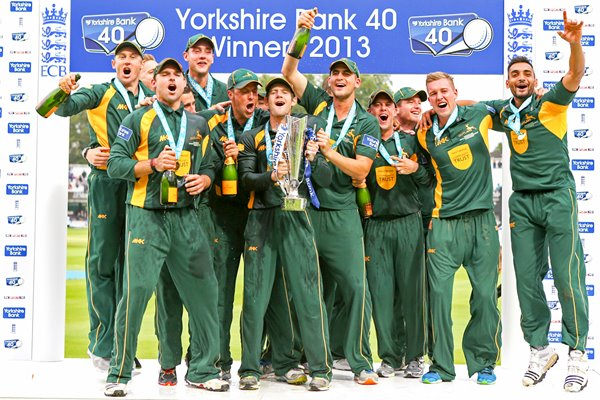Nottinghamshire Yorkshire Bank 40 Final Champions 2013