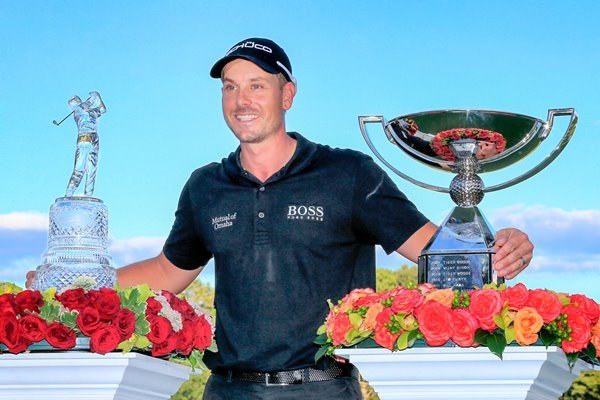 Henrik Stenson Fed Ex and Tour Champion Atlanta 2013