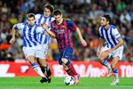 Lionel Messi Barcelona v Real Sociedad La Liga 2013 Mounts