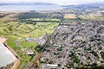 Carnoustie Golf Club and Town Aerial View 2013 Prints