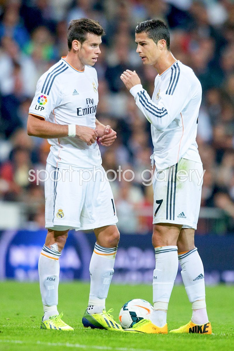 Gareth Bale and Ronaldo Real Madrid La Liga 2013