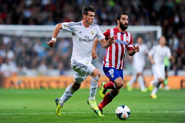 Gareth Bale Real Madrid v Atletico Madrid La Liga 2013