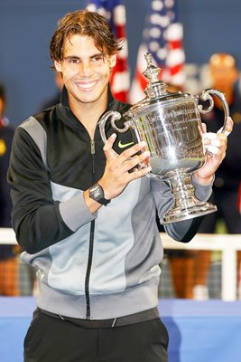 2010 US Open Champion Rafael Nadal
