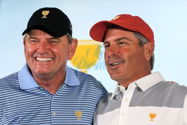 The Presidents Cup Captains 2013 - Nick Price & Fred Couples