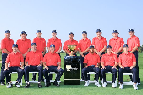USA Team The Presidents Cup Muirfield Village 2013