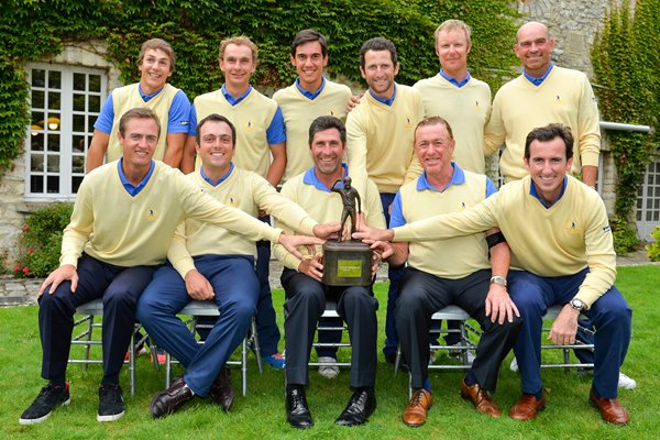 Olazabal and Europe win Seve Trophy 2013